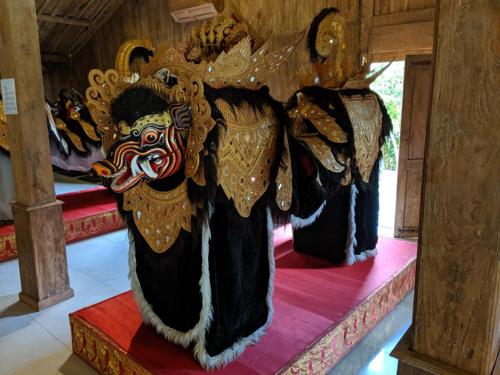 A variation of a Barong costume