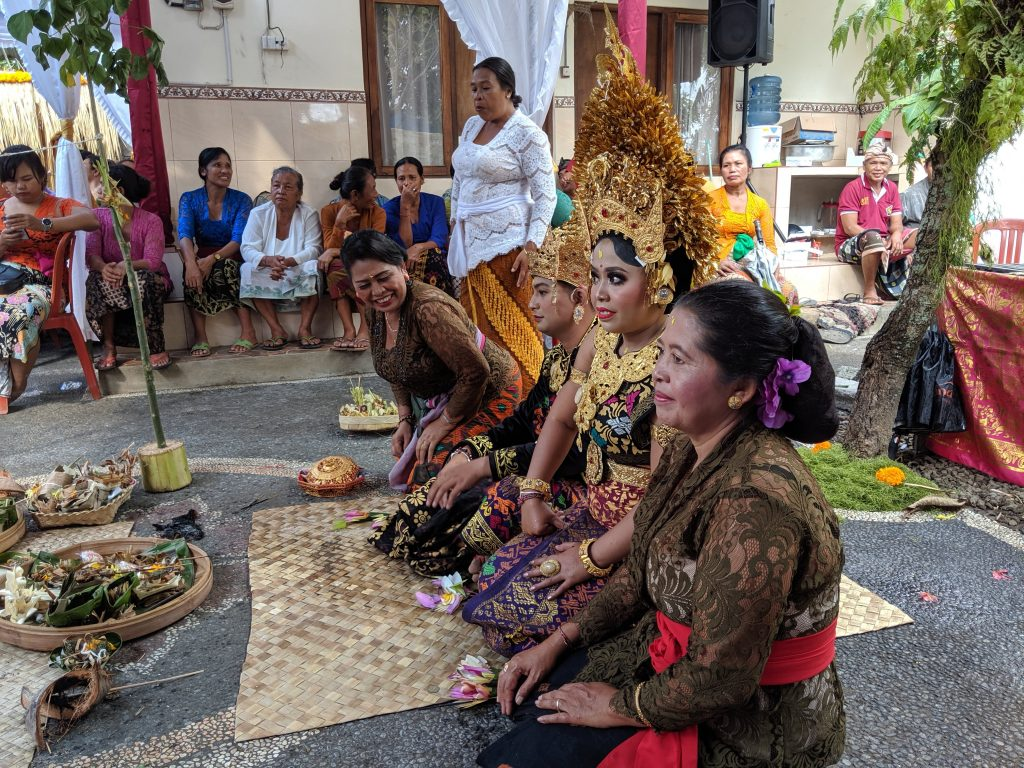 Balinese marriage ceremony