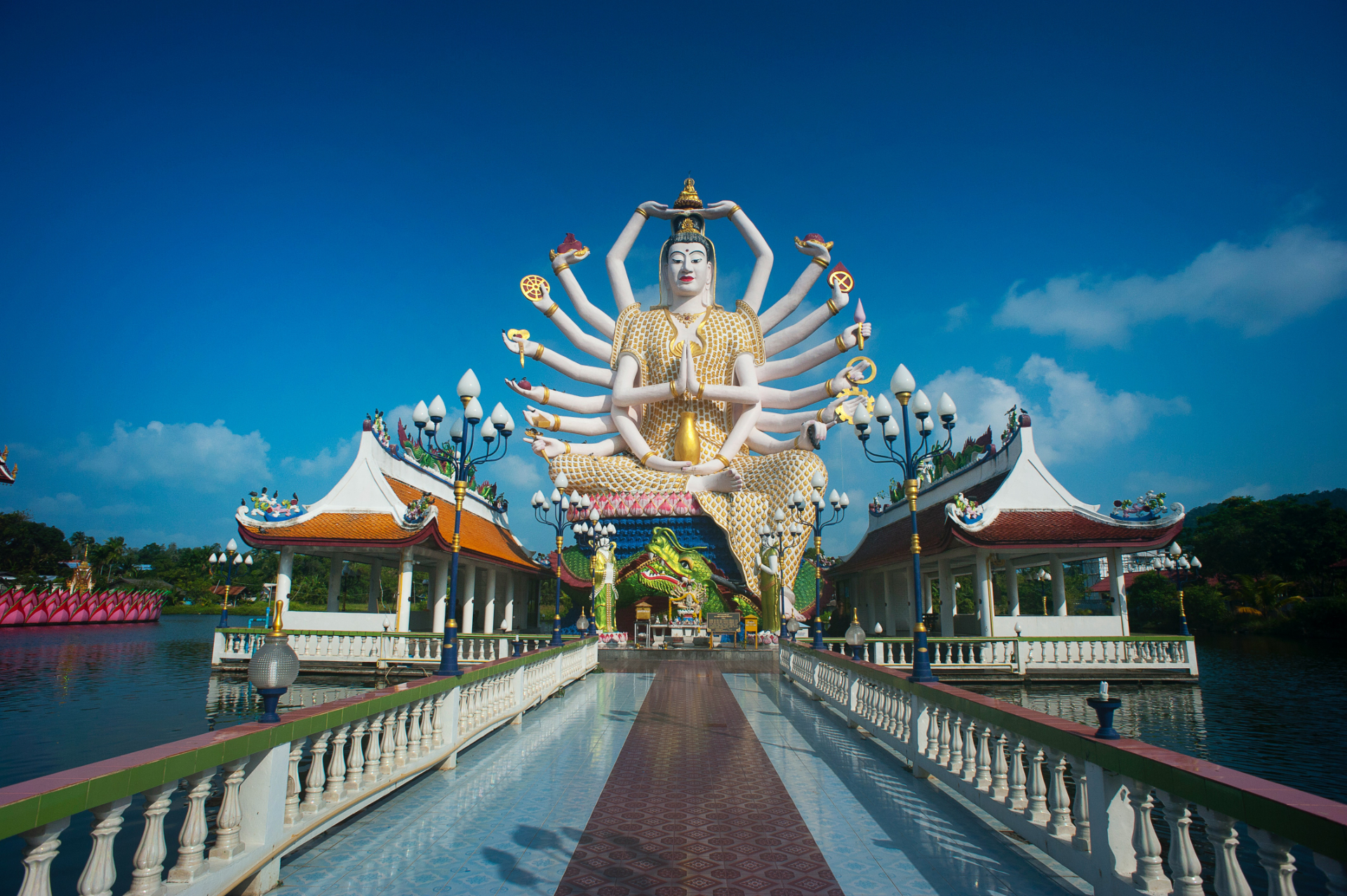 Buddhist Temple in Southeast Asia