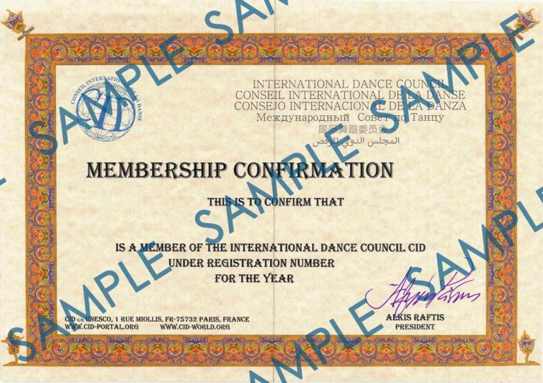 CID-Membership Sample